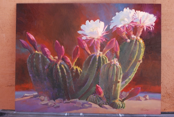 This painting sold at the Dixie Sears Gallery Invitational.
