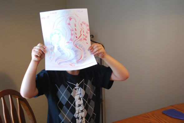 Yes, the final art could be used as a mask. Jayson is modelling the possibilities!