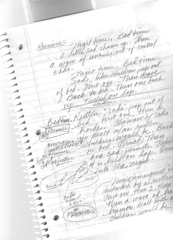 "Began reading some Writer's Digest magazine articles and  to understand premise, outline, protagonist. Have a notebook that I assembled all my story ideas into. Began plumbing the depths of one of the stories about ""sadding"". Stay tuned for what that jargon means."